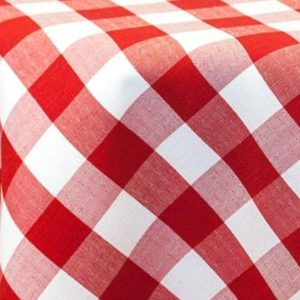 Check Print Tablecloths