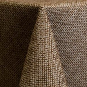 Faux Burlap Tablecloths