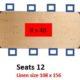 D5 Rectangle Tables 42