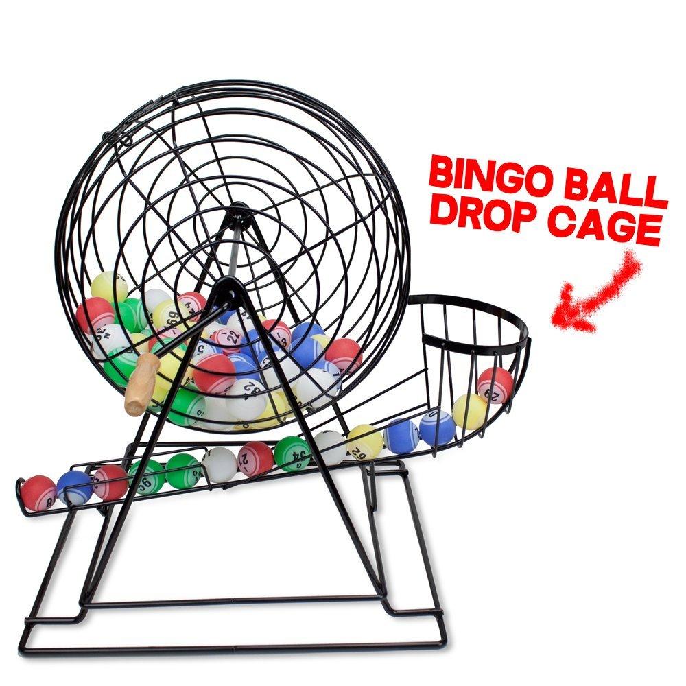 Ping Pong Ball Bingo Cage