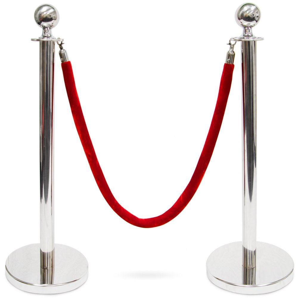 A2 Gold Stanchion Amp Rope For Rent Party Rentals Nyc