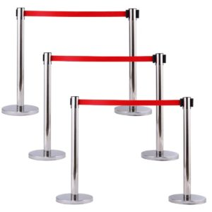 Retractable Stanchion Chrome