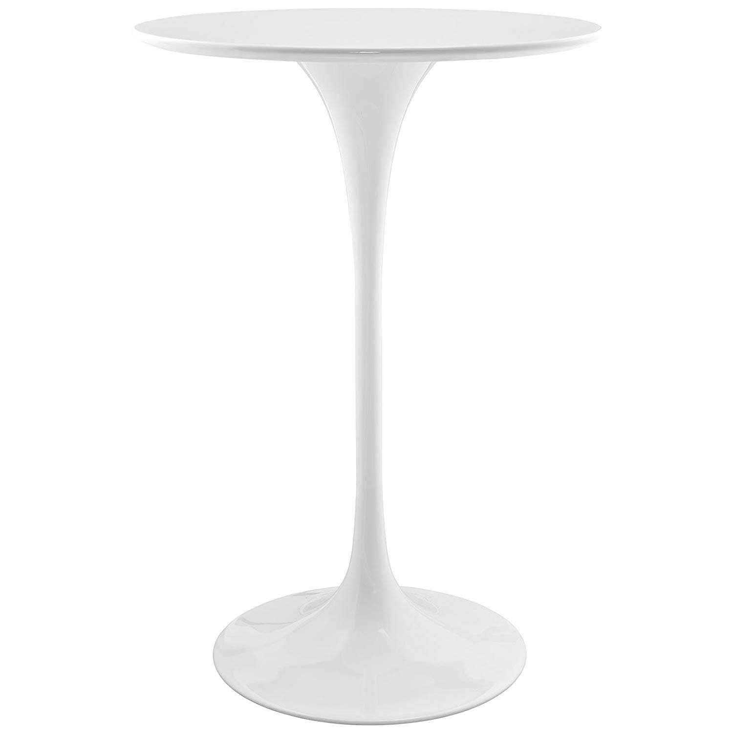 Clear Ghost Round Back U0026 Backless Bar Stools 30, Lippa White Bar Height  Cocktail Tables ...