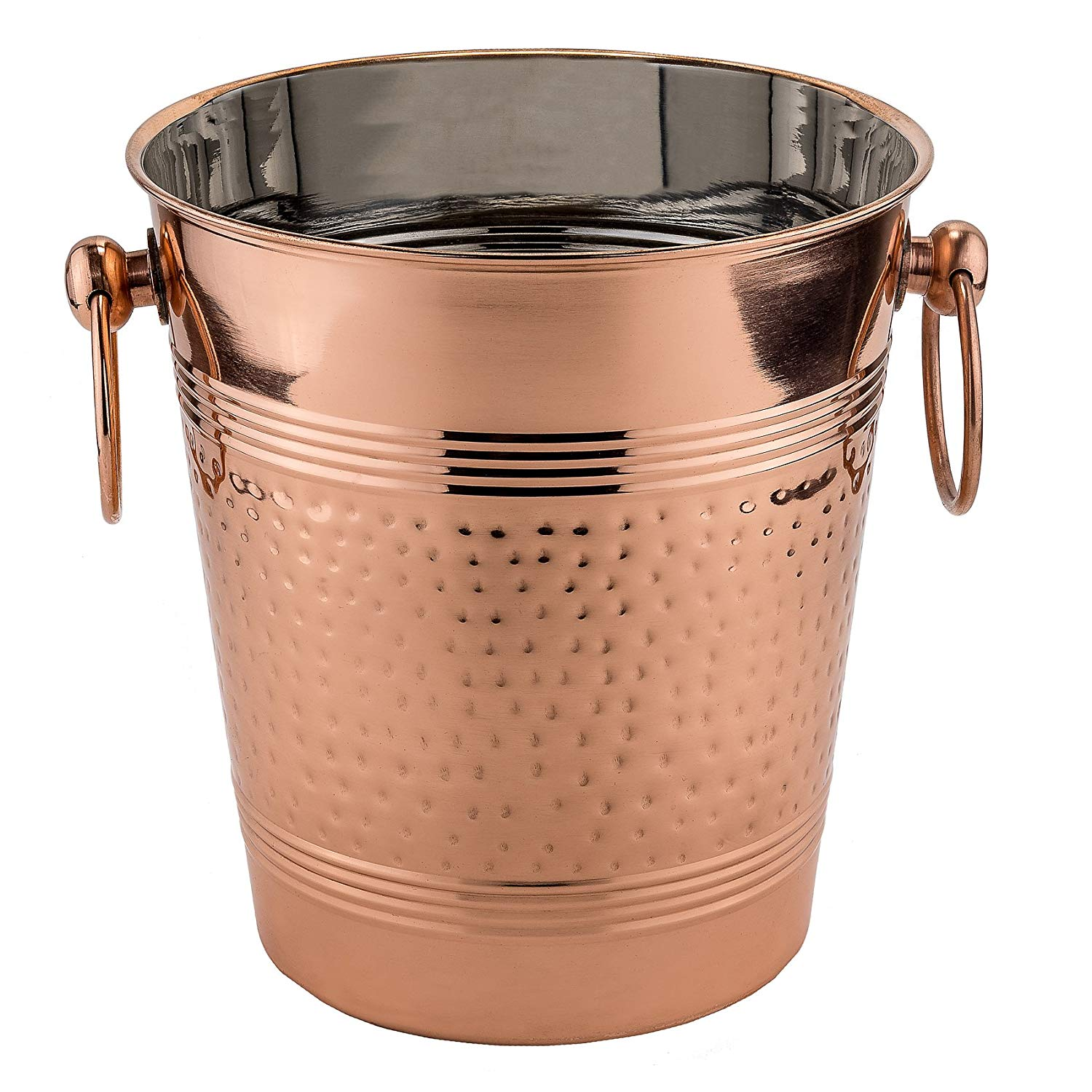Ice Bucket Sy Stainless Steel Copper Plate