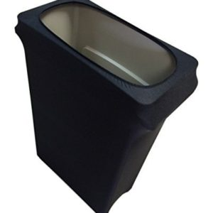 Slim Jim Stretch Spandex Trash Can Cover, 23 Gallons Black